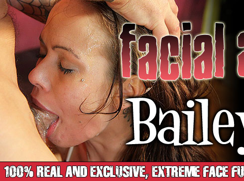 Bailey Rae Destroyed On Facial Abuse